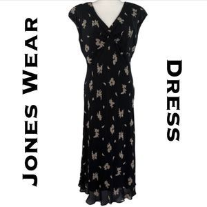 Jones Wear Dress Full Length Size 10